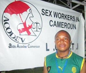Adonis Tchoudja (Photo de Aids Acodev Cameroun)