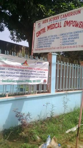 Centre Médical Empower (Photo de Aids Acodev Cameroon)