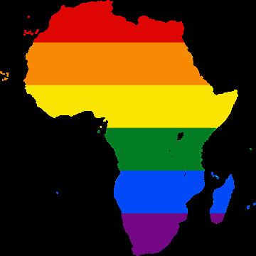 Afrique Arc-en-ciel (Carte de Wikipedia)