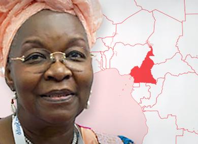 Alice Nkom , co-fondateur de l'Association pour défendre les homosexuels ( ADEFHO ) au Cameroun (Photo de ChangingAttitude.org.uk ) Avocat camerounais Alice Nkom a été menacé de violence en raison de sa défense juridique des clients LGBT.