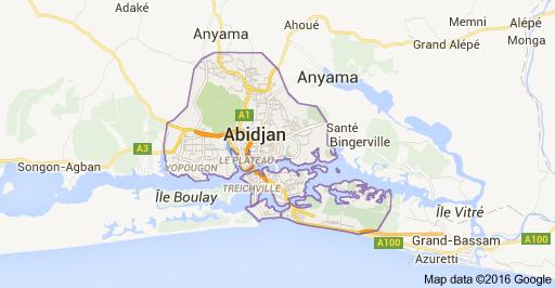 Abidjan, la capitale de la Côte d'Ivoire