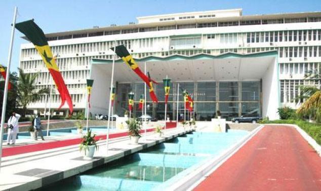 Senegal parliament building