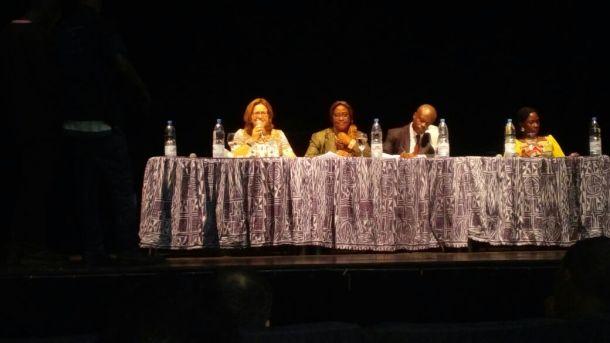 La conférence débat lors de la Journée commémorative de lutte contre les violences faites aux défenseurs des droits humains. (Photo de Facebook)