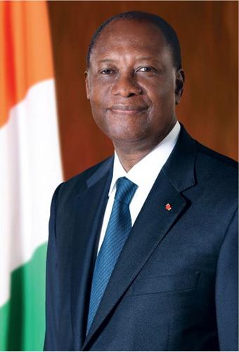 Le chef de l'Etat ivoirien, le Président Alassane Ouattara
