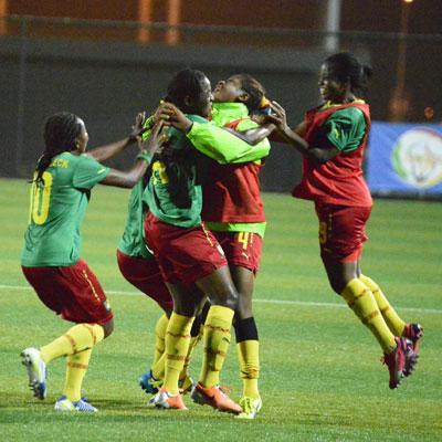 Le football féminin: Les matchs de la Coupe d'Afrique de football féminin se joueront à Yaoundé et Limbé au Cameroun du 19 novembre au 3 décembre. (Photo de camer-sport.be)