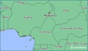 La localisation de Mokolo au Cameroun.