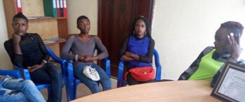 Une rencontre d'échange organisé par ALCIS sur les stratégies à mettre en oeuvre pour maintenir les interventions de protection et d'accès aux droits pour les congolais LGBTI. (Photo d'ALCIS, publiée avec l'autorisation des personnes dans la photo)