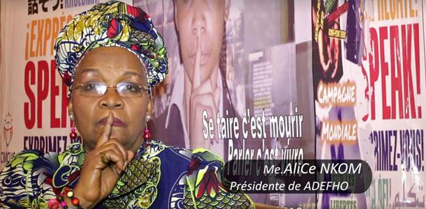 "Alice Nkom: ""Se taire c'est mourir"""