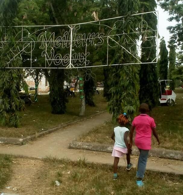La scène des arrestations arbitraires: Le jardin public de Bonamoussadi à Douala au Cameroun. (Photo de Jacks Oke)