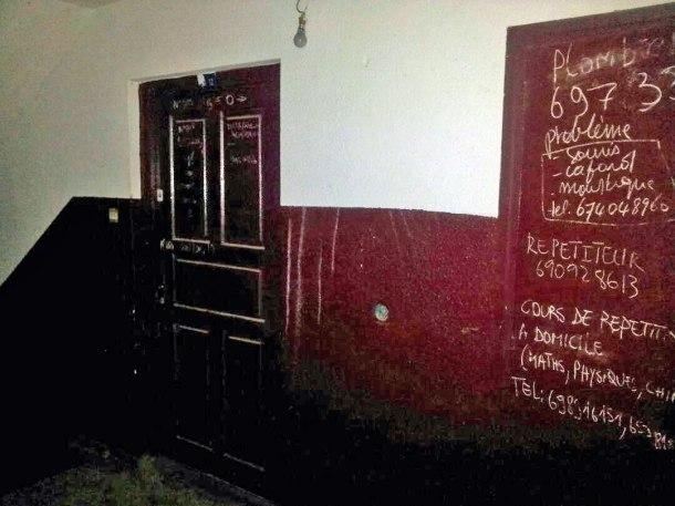 Le domicile de Nina à Douala.