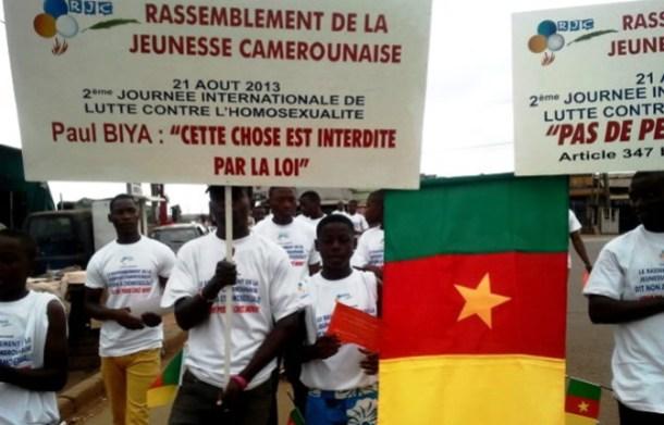 La Journée mondiale contre l'homosexualité en 2013. (Photo de Cameroun24.net)