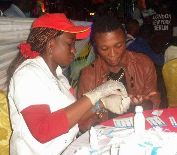 Le dépistage du VIH à Bukavu.