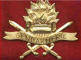 Un symbole de la Gendarmerie au Cameroun.