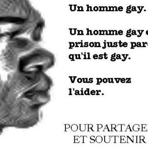 Prisonnier à cause de l'homophobie — vousl'aiderez?