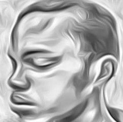 Image symbolique d'Albert, prisonnier gay à la prison centrale de Yaoundé, Cameroun. Les photos ne sont pas autorisées dans la prison.