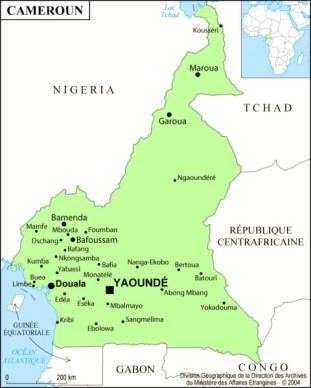 Buea se trouve dans la côte sud-ouest du Cameroun, 30 kilometres au nord de Limbe.
