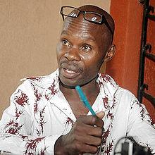 Le militant ougandais David Kato, tué en 2011 après qu'un tabloïd ougandais a publié son nom des une liste d'homosexuels présumés.