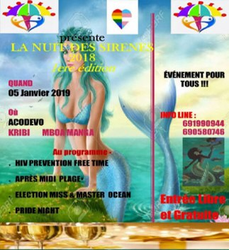Affiche d'invitation d'Acodevo. (Photo d'Acodevo)