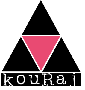 Logo de Kouraj : ONG de défense des droits des personnes LGBTQI+ en Haïti