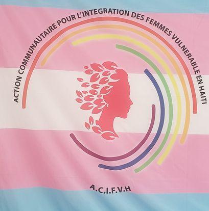 Logo de l'organisation transidentitaire ACIFVH (Action communautaire pour l'intégration des femmes vulnérables en Haïti)