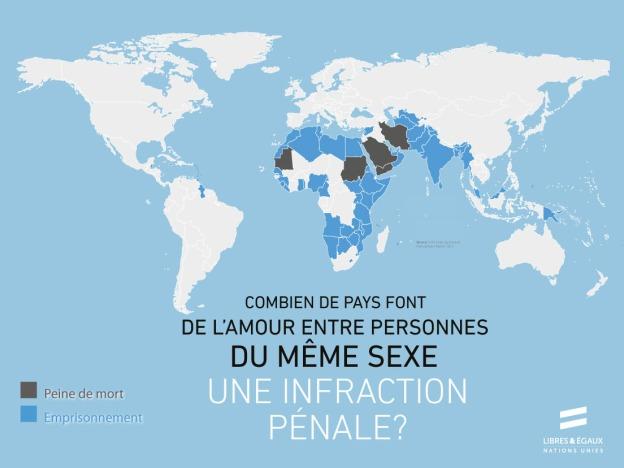 Faites le clic ici pour lien avec la campagne de l'ONU: Libres et Égaux